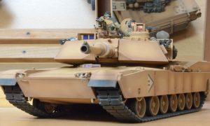 タミヤMM米陸軍M1エイブラムス戦車