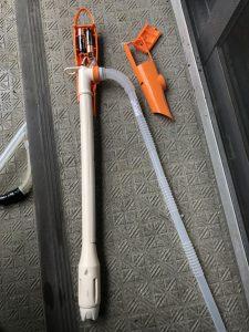 修理をした灯油ポンプ